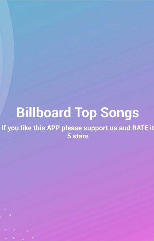 Billboard Top Songs for Android - APK Download