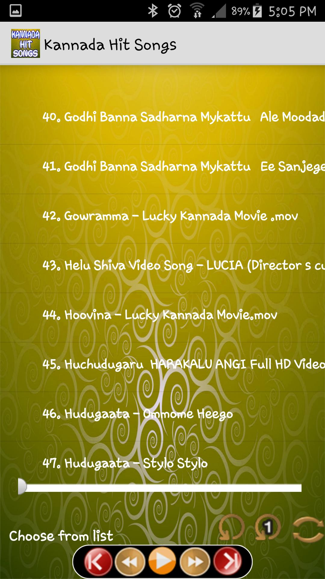 Kannada Hit Songs for Android - APK Download