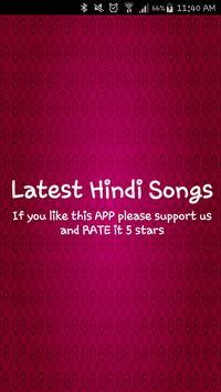Latest Hindi Songs poster