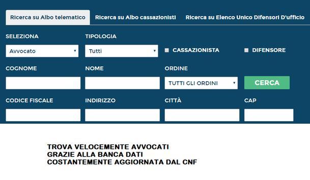 Albo Avvocati screenshot 1