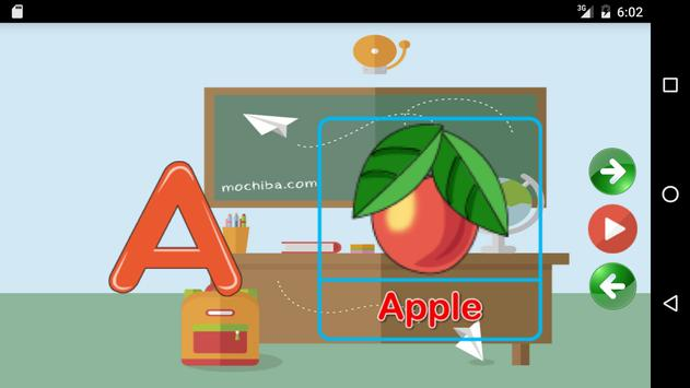 Learns the Alphabet in English apk screenshot