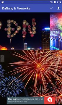 Da Nang & Fireworks wallpaper apk screenshot