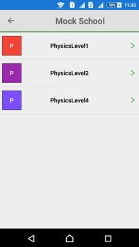 Mock School apk screenshot