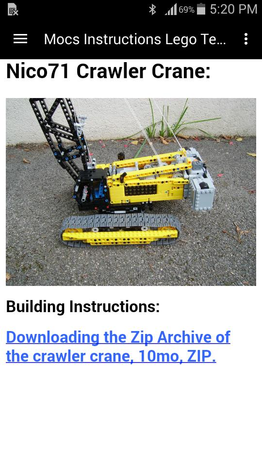 Mocs Instructions Lego Technic for Android - APK Download