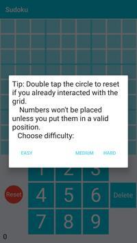 Sudoku apk screenshot