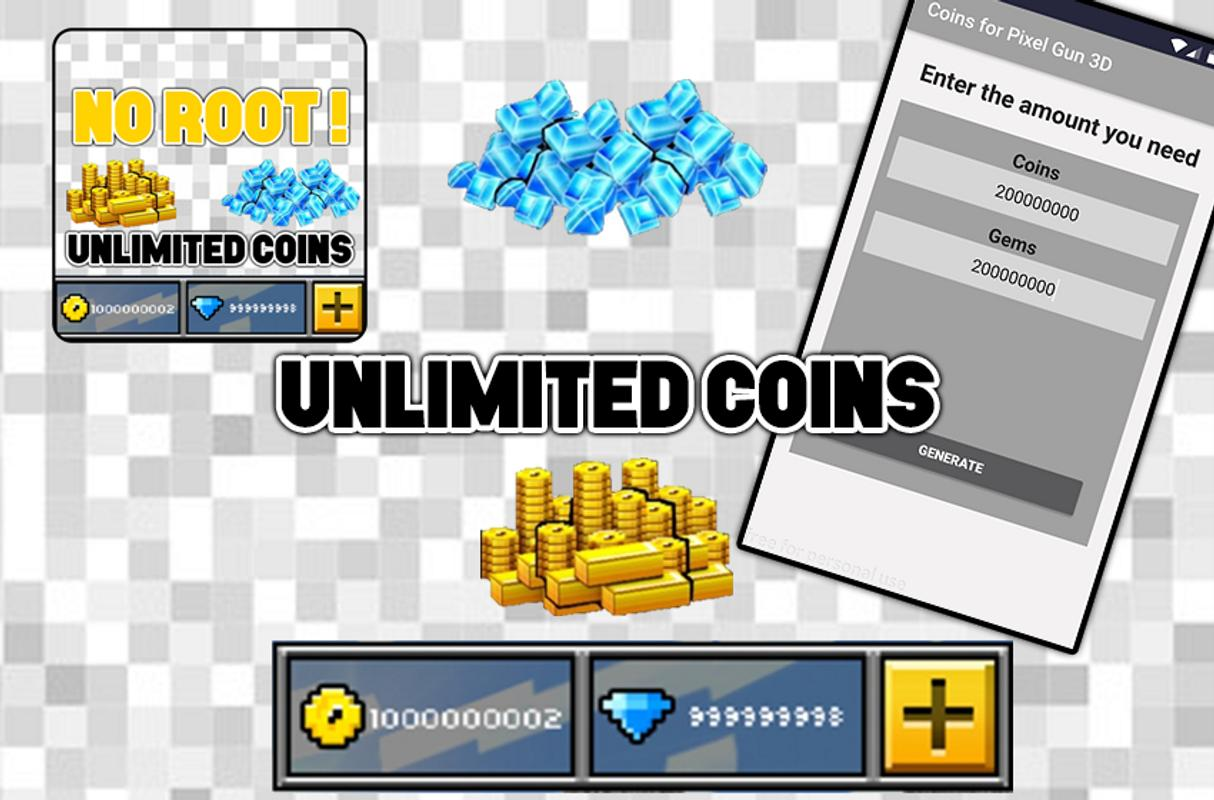 how to get 1000 coins in pixel gun 3d