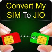 Convert My Sim To Jio Prank icon