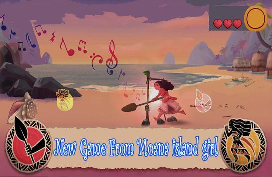 Princess Vaiana Oceania Island poster