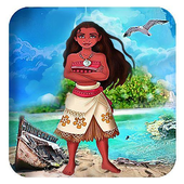Princess Moanaa: Cool Girl👧🏽 icon