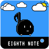 eighth note pro icon