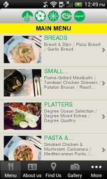 Degree Restaurant and Bar screenshot 1