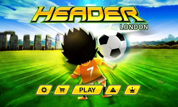 Header London (Soccer) poster