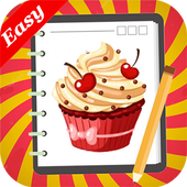 Learn how to Draw Cakes icon