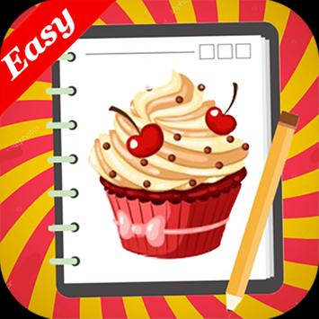 Learn how to Draw Cakes screenshot 4