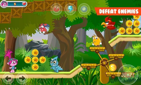 Epic Poppy Trols Adventure Run apk screenshot