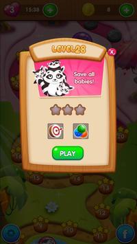 Bubble Shooter  |  Save The Babies screenshot 3