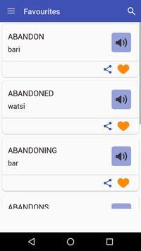 English To Hausa Dictionary screenshot 6