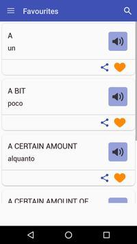 English To Italian Dictionary screenshot 6