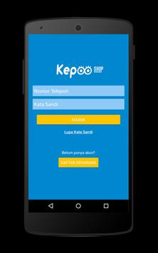 KEPOOShop | Isi Pulsa Online screenshot 1