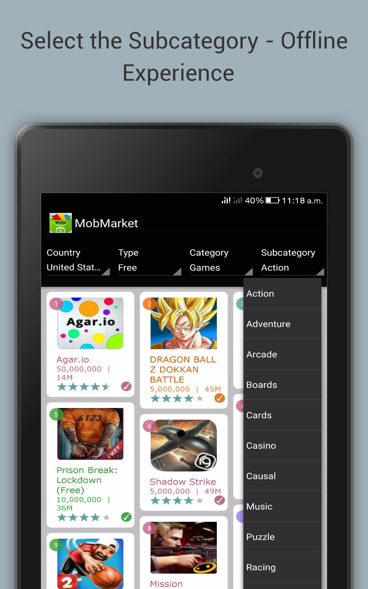 one mobile market apk file