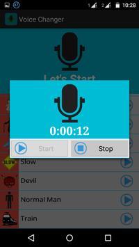 Voice Changer apk screenshot