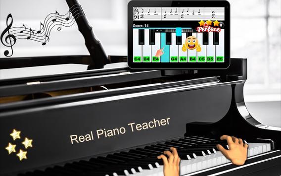 9 Schermata Insegnante di pianoforte reale