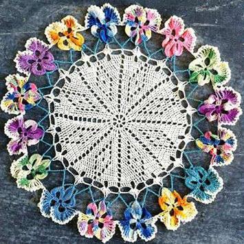 Beginning Crochet Doilies poster