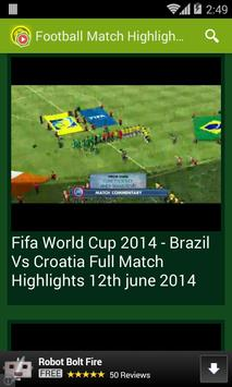 Football Match Highlights apk screenshot