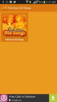 Pakistani Old Songs screenshot 1