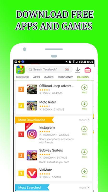 mobogenie download free apps and games