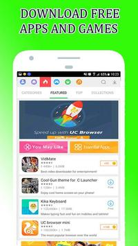 Guide MOBoGenie Apps and Games Store Market poster