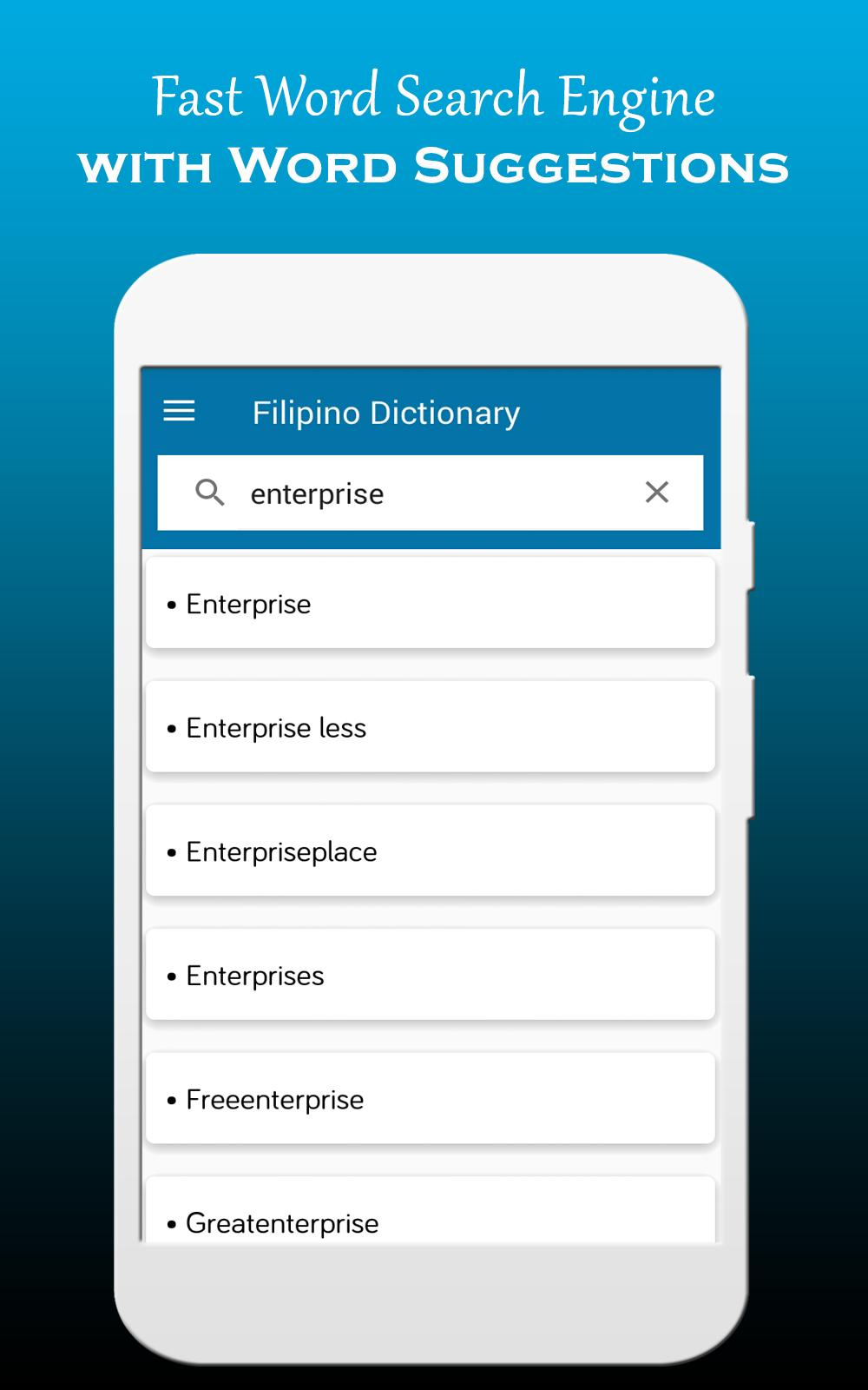 English to Tagalog Dictionary & Translator for Android