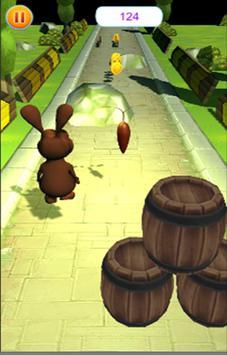 Rabbit Runner 3D screenshot 1