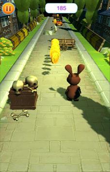 Rabbit Runner 3D screenshot 2