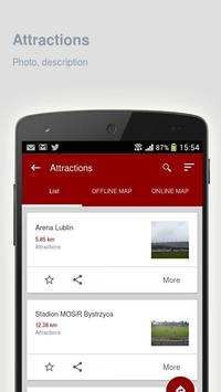 Lublin: Offline travel guide apk screenshot