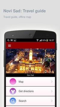Novi Sad: Offline travel guide poster