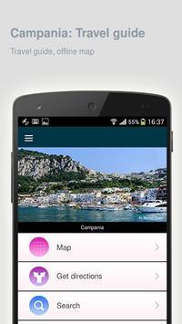 Campania: Offline travel guide poster