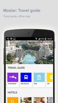 Mostar: Offline travel guide apk screenshot