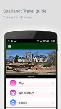 Saarland: Offline travel guide apk screenshot