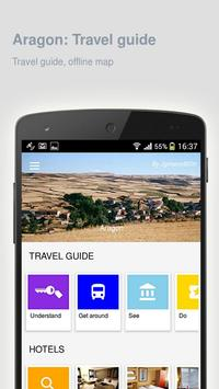 Aragon: Offline travel guide screenshot 4
