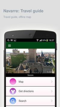 Navarre: Offline travel guide apk screenshot