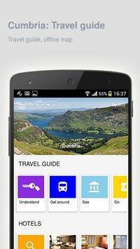 Cumbria: Offline travel guide poster