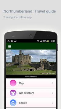 Northumberland: Travel guide poster