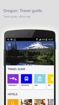 Oregon: Offline travel guide screenshot 8