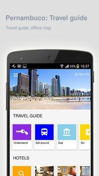 Pernambuco: Travel guide poster
