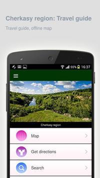 Cherkasy region: Travel guide apk screenshot