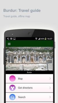 Burdur: Offline travel guide poster