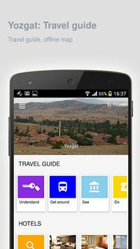 Namibia: Offline travel guide poster