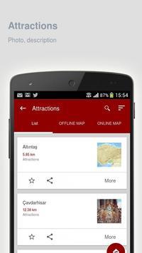 Kütahya: Offline travel guide apk screenshot