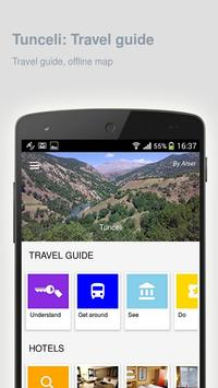 Tunceli: Offline travel guide apk screenshot